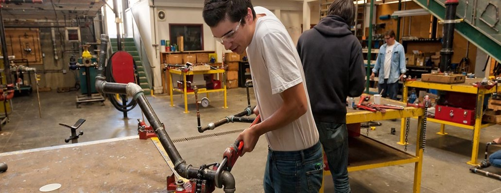 Technical trades training and high school credit.